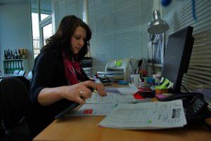 Nicole Hennig, Buchhaltung / Telefonvermittlung